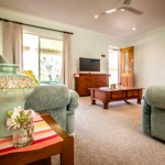 Comfortable and spacious lounge